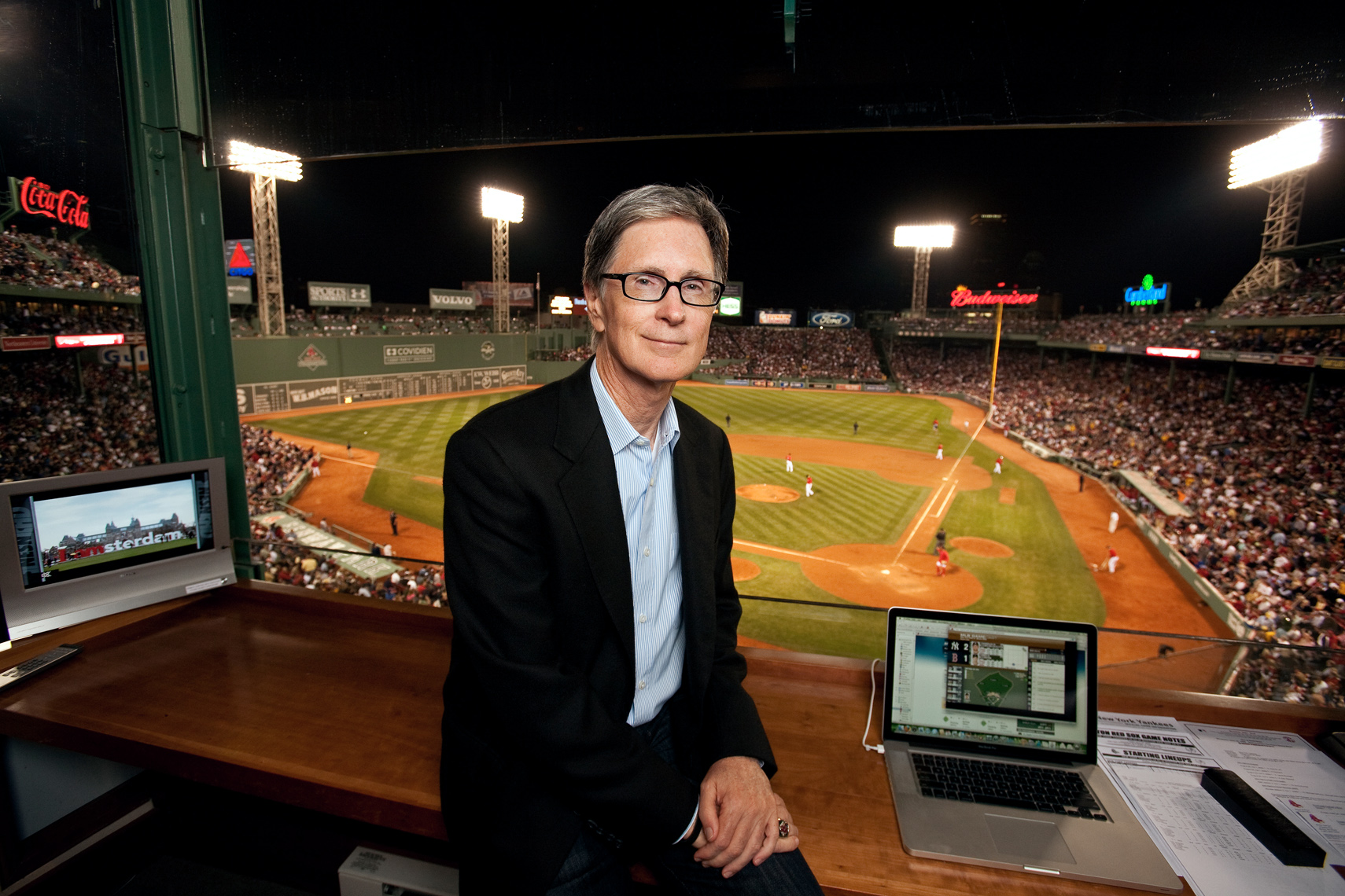 JOHN HENRY • BOSTON RED SOX • JASON GROW PHOTOGRAPHY