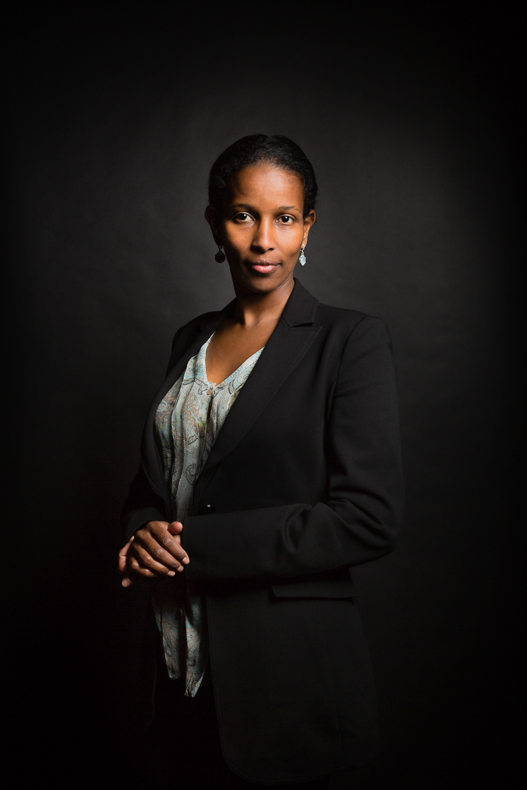 AYAAN HIRSI ALI • HUMAN RIGHTS ADVOCATE • JASON GROW PHOTOGRAPHY