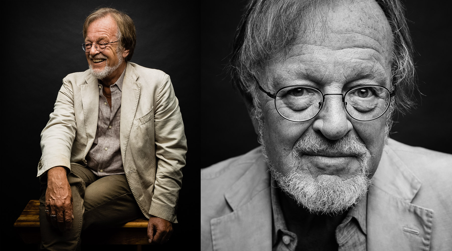 BERNARD CORNWELL • AUTHOR & HISTORIAN • JASON GROW PHOTOGRAPHY