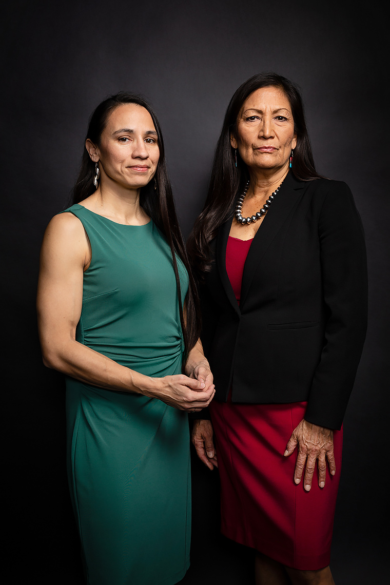 Rep.  Sharice Davids, KS-03 and Debra Haaland, NM-01 • New Women of Congress - Politico Magazine • Jason Grow Photography