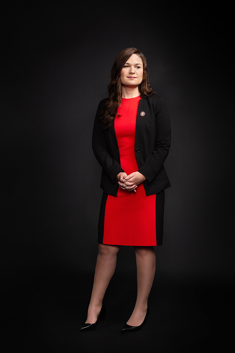 Rep.  Abby Finkenauer, IA-01 • New Women of Congress - Politico Magazine • Jason Grow Photography