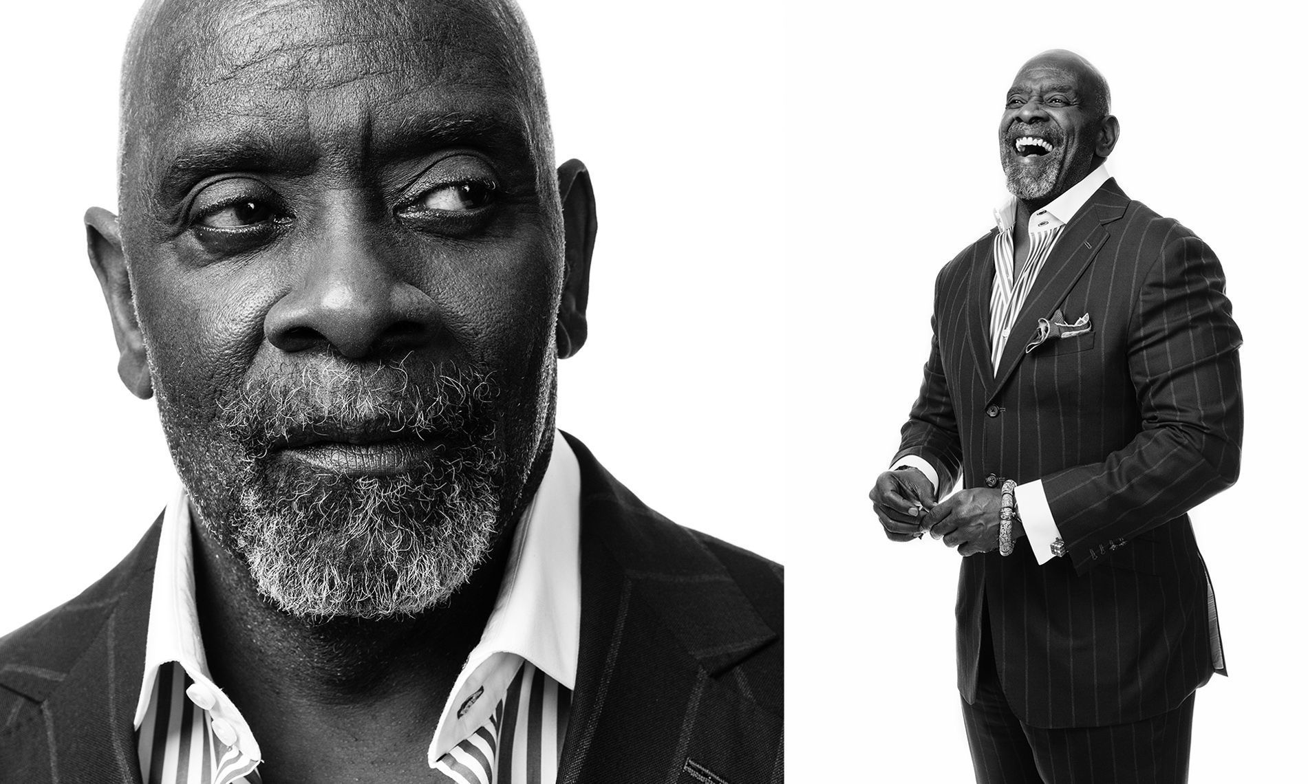 CHRIS GARDNER, THE PURSUIT OF HAPPYNESS • AARP • JASON GROW PHOTOGRAPHY
