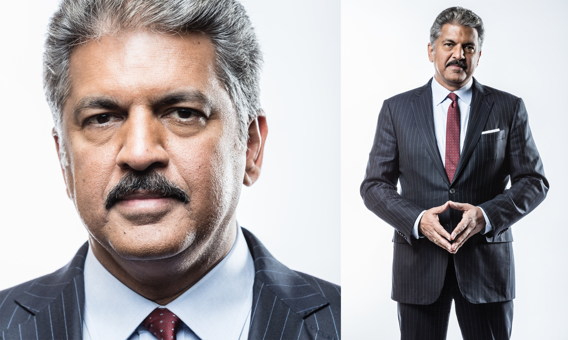 ANAND MAHINDRA • MAHINDRA GROUP • JASON GROW PHOTOGRAPHY