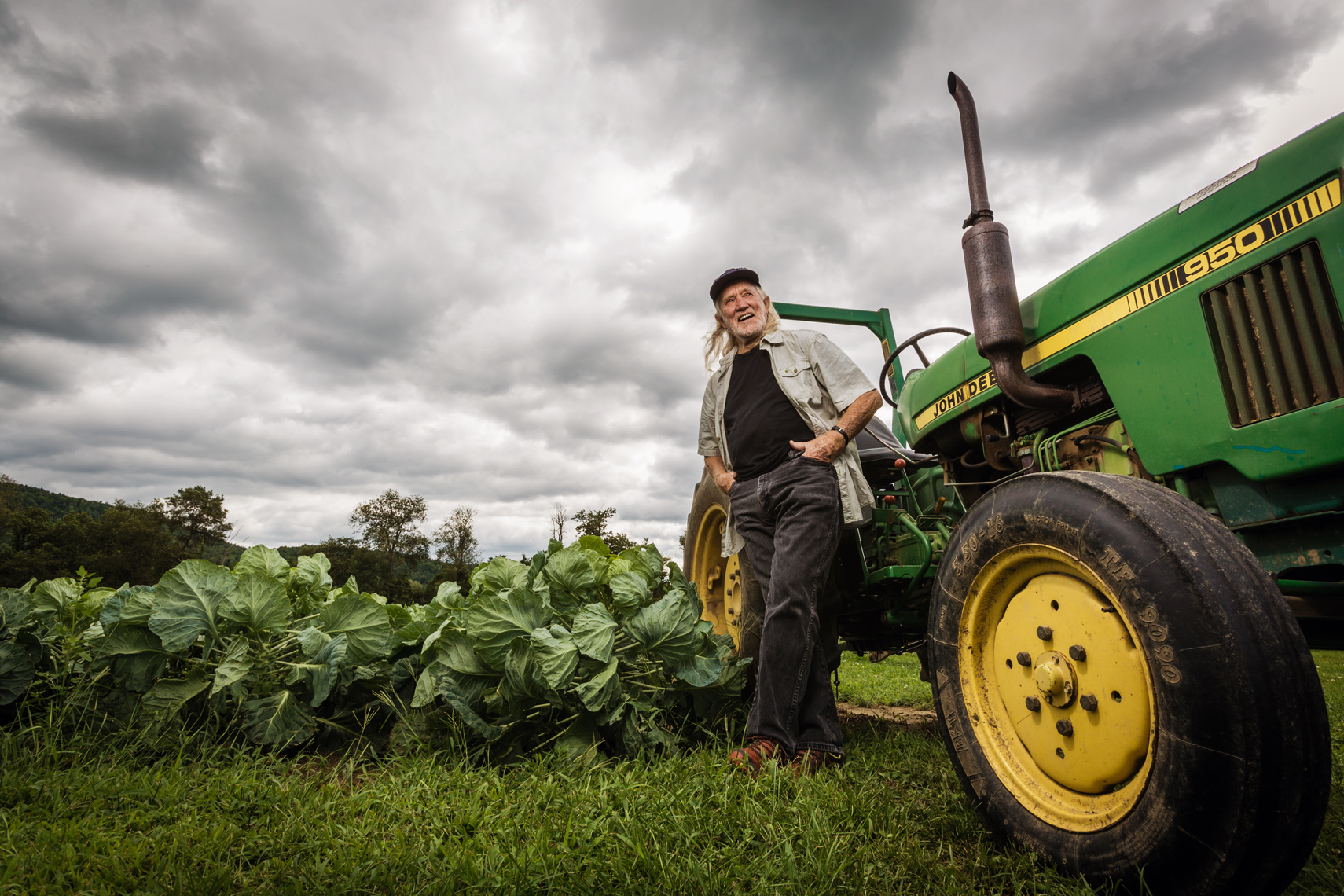 WILL ALLEN, CEDAR CIRCLE FARM, ORGANIC ADVOCATE • THE WALL STREET JOURNAL • JASON GROW PHOTOGRAPHY