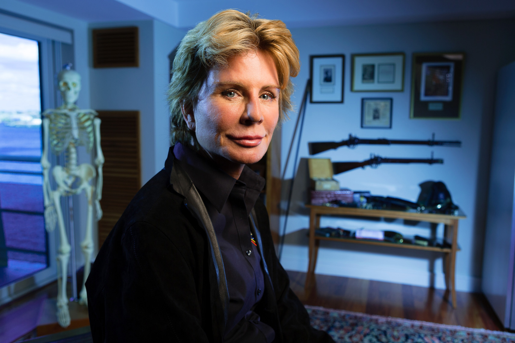 PATRICIA CORNWELL, AUTHOR • THE SUNDAY TIMES • JASON GROW PHOTOGRAPHY