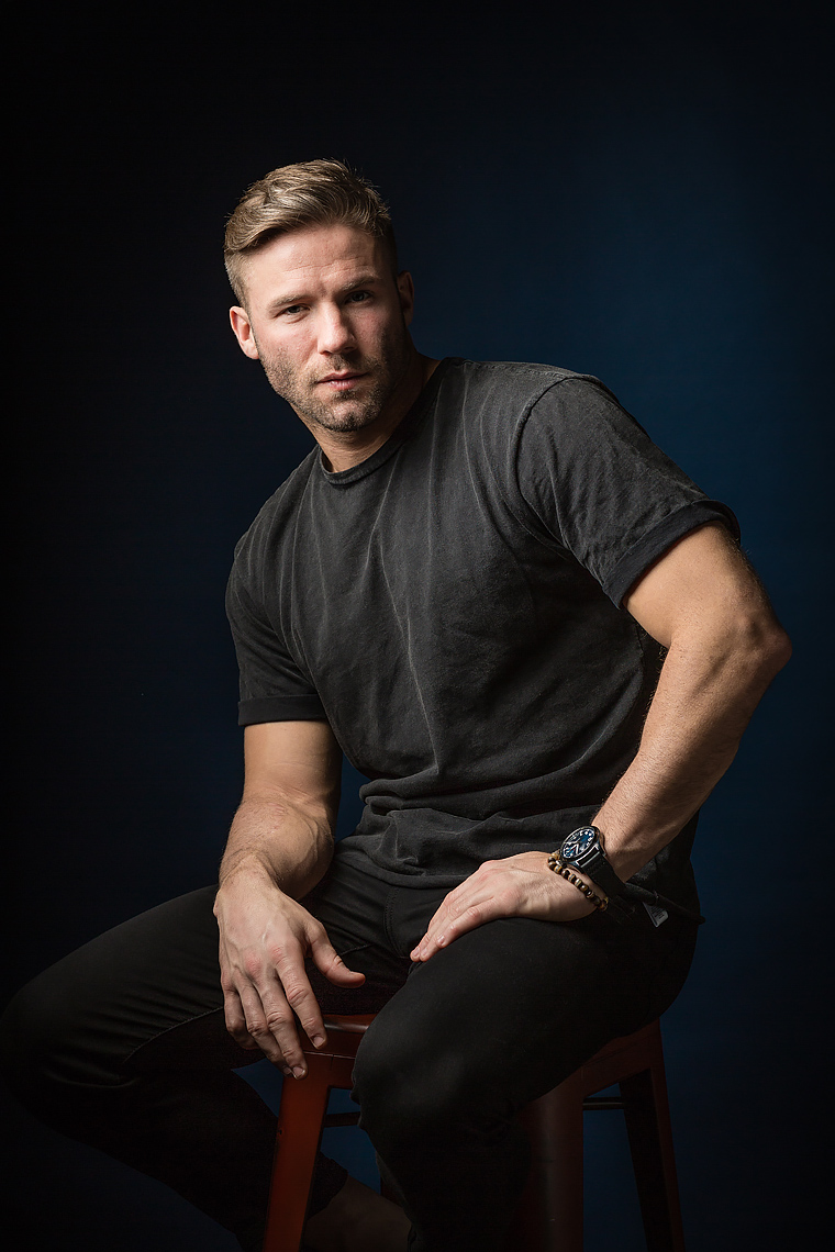 JULIAN EDELMAN, NEW ENGLAND PATRIOTS • THE WALL STREET JOURNAL • JASON GROW PHOTOGRAPHY