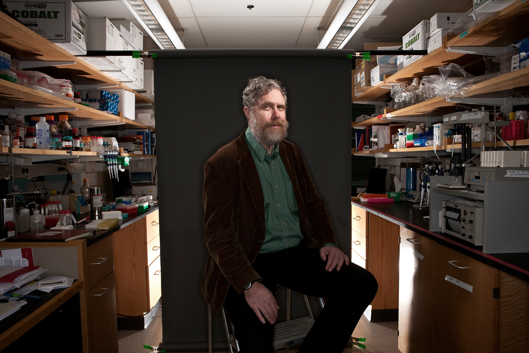 GEORGE CHURCH, GENETICIST, HARVARD UNIVERSITY • FORBES MAGAZINE • JASON GROW PHOTOGRAPHY