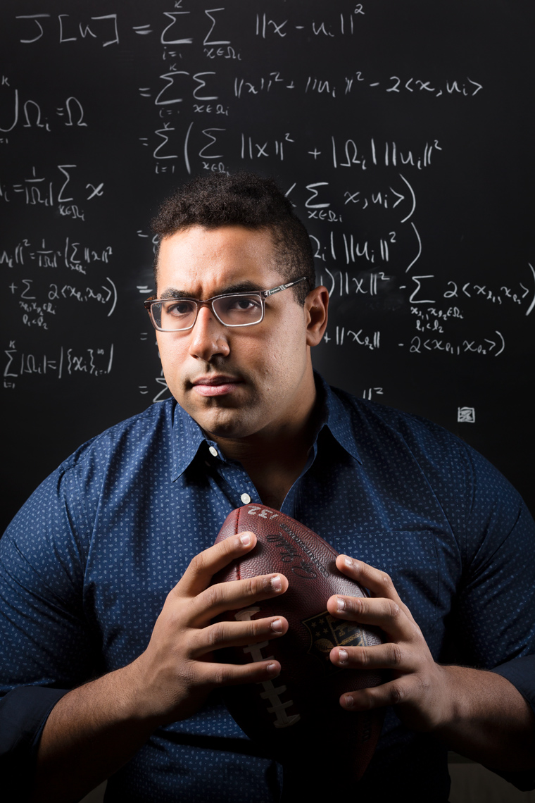 JOHN URSCHEL, PROFESSIONAL FOOTBALL PLAYER & MIT DOCTORAL CANDIDATE IN MATHEMATICS • JASON GROW PHOTOGRAPHY