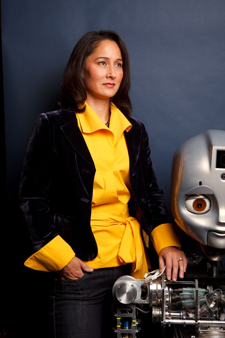 Cynthia Breazeal, Robotics pioneer, MIT, for Fast Company • Jason Grow Photography
