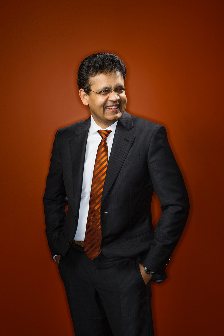 Kris Canekeratne, CEO of Virtusa, for Barron