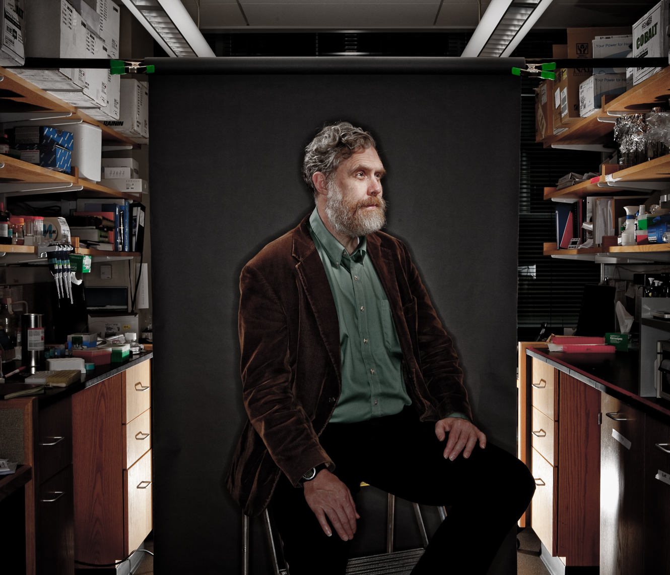 George Church, Harvard Medical School for Forbes Magazine • Jason Grow Photography