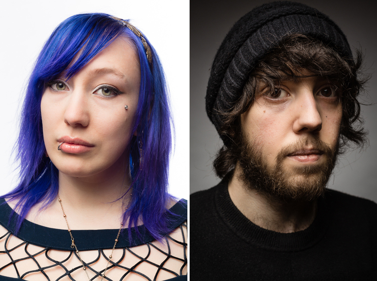 Zoe Quinn & Eron Gjoni, Gamergate for Boston Magazine • Jason Grow Photography
