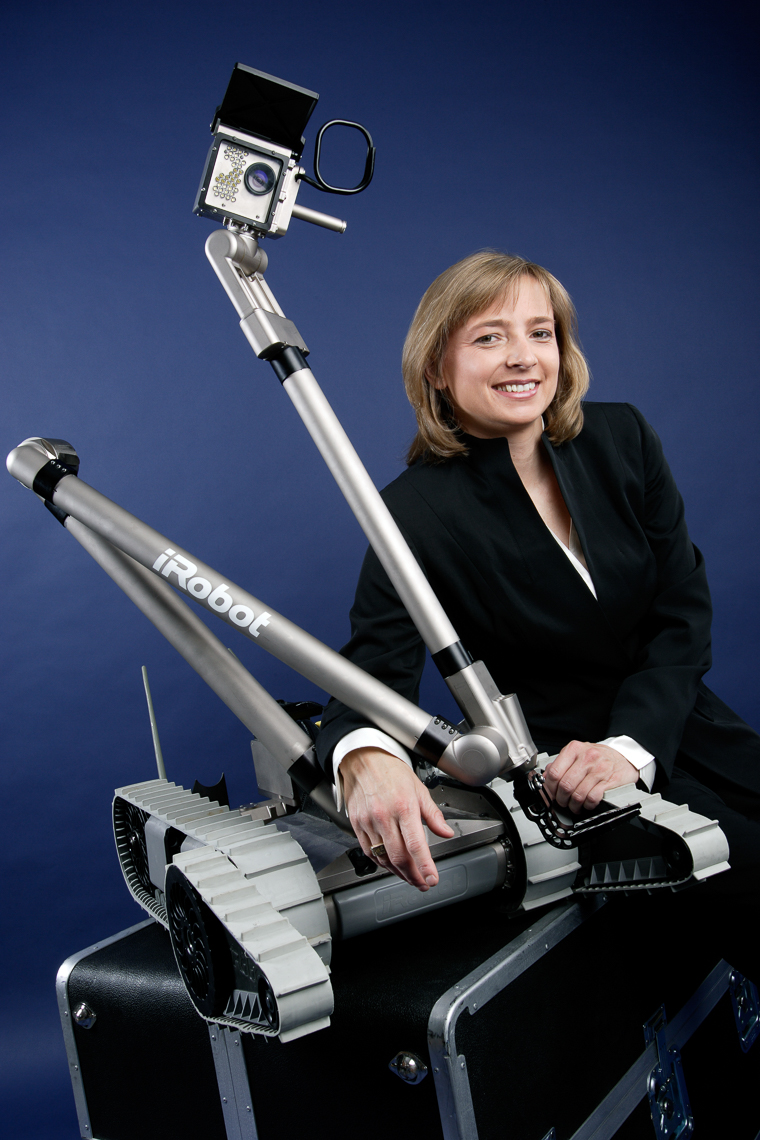 Helen Greiner, iRobot, for Business Week • Jason Grow Photography