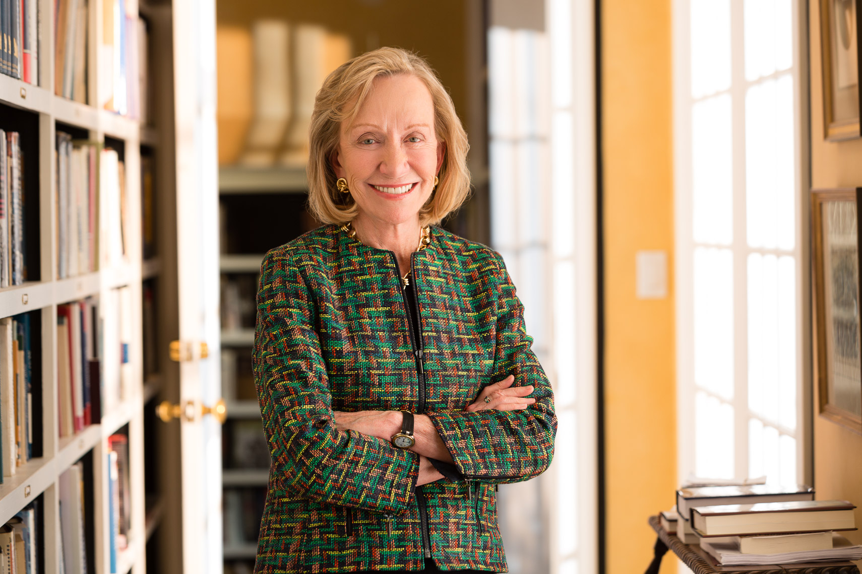 Doris Kearns Goodwin, historian, author, for AARP • Jason Grow Photography