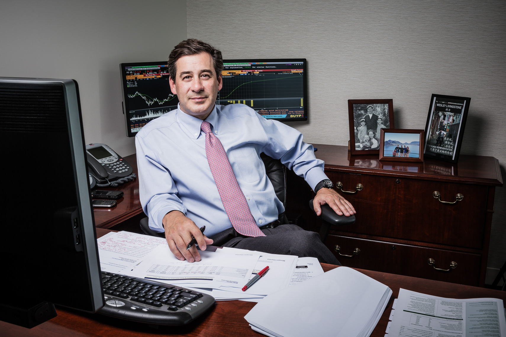 Victor Livingstone, Morgan Stanley Personal Wealth Management  • Jason Grow Photography