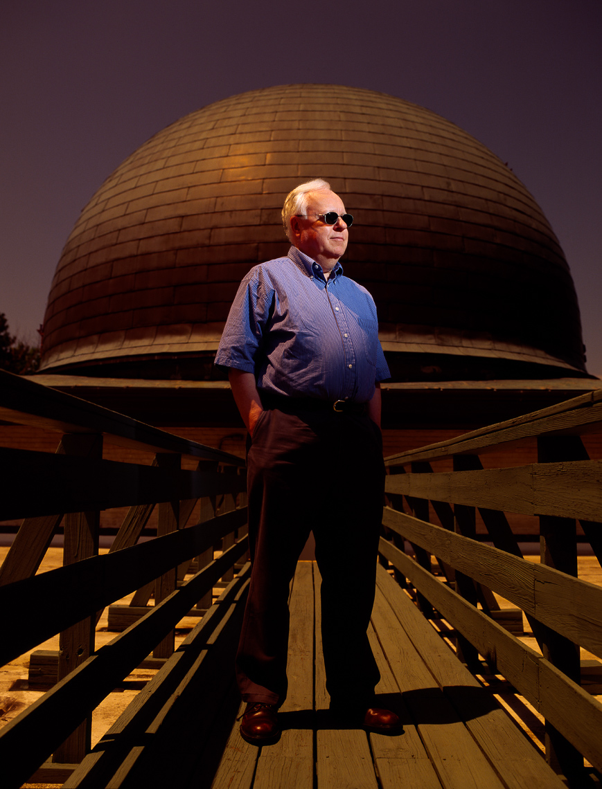 Dr. Brian Marsden, Harvard University asteroid watcher, for Scientific American • Jason Grow Photography