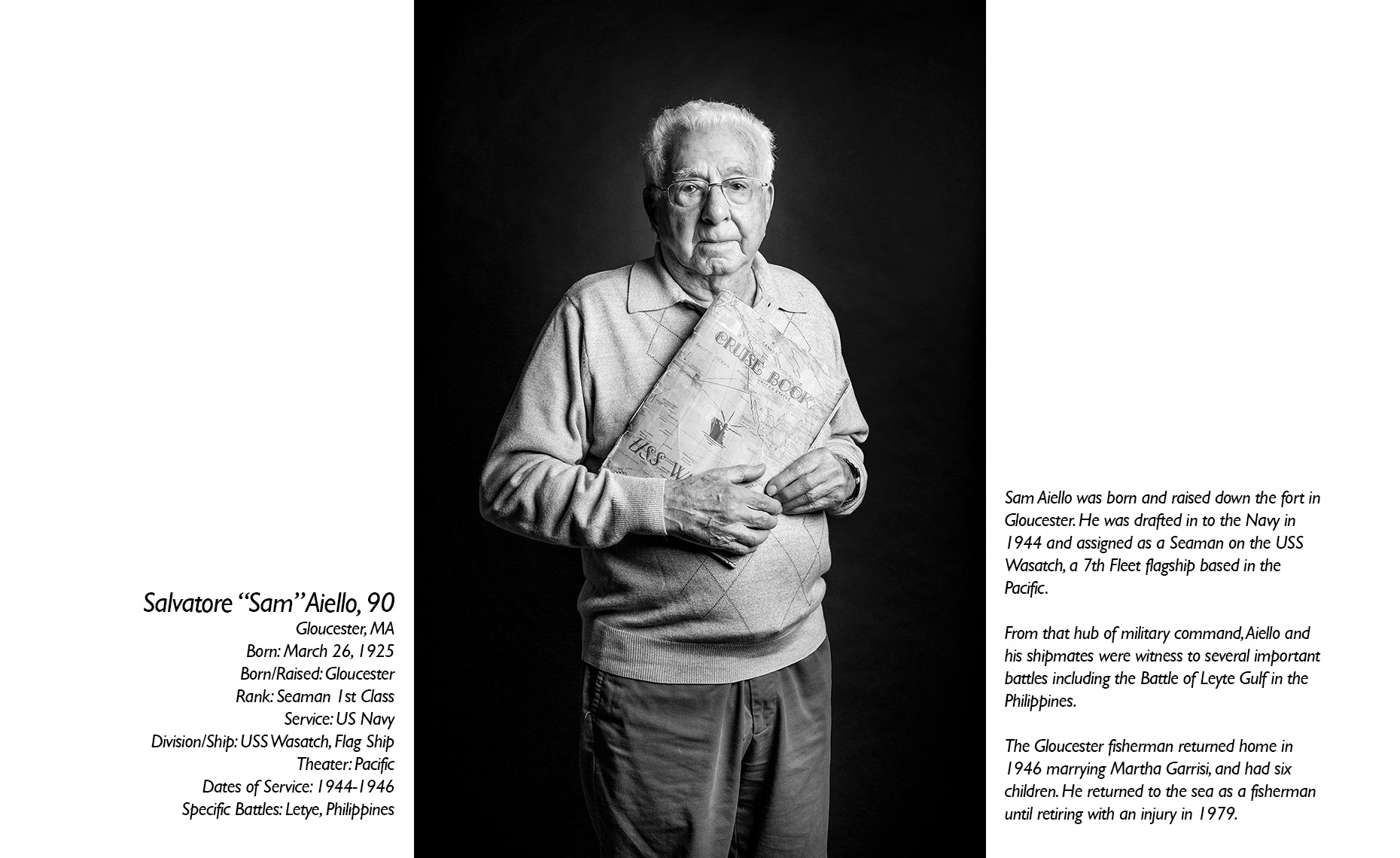 Salvatore Aiello  WWII Veteran  • Jason Grow Photography