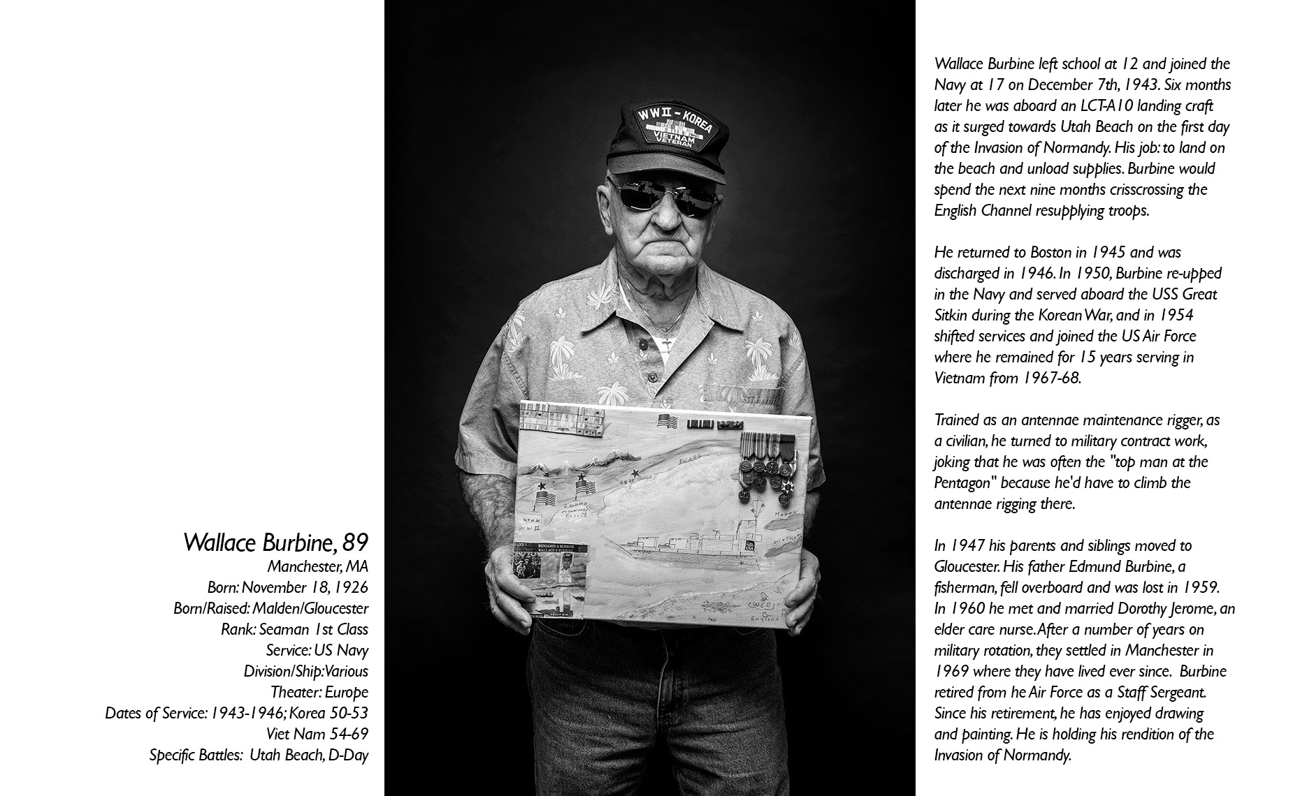 Wallace Burbine  WWII Veteran  • Jason Grow Photography