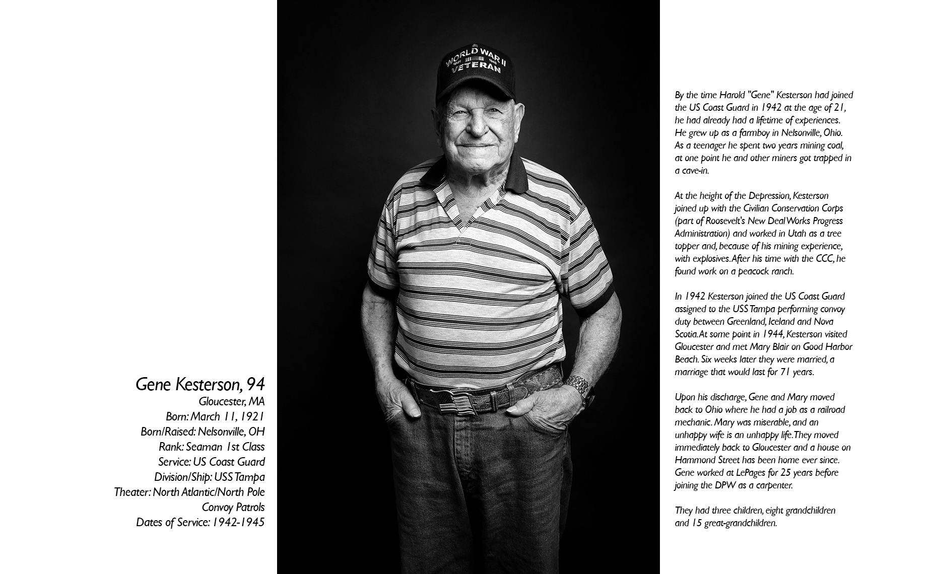 Gene Kesterson  WWII Veteran  • Jason Grow Photography