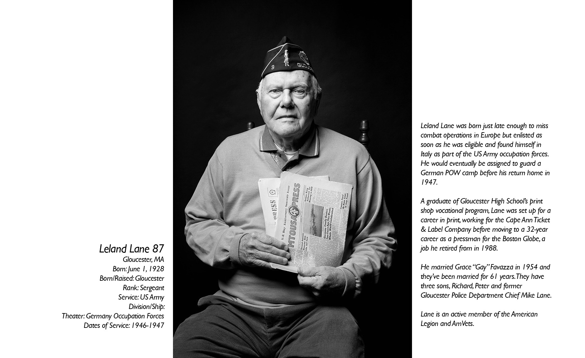 Leland Lane  WWII Veteran  • Jason Grow Photography