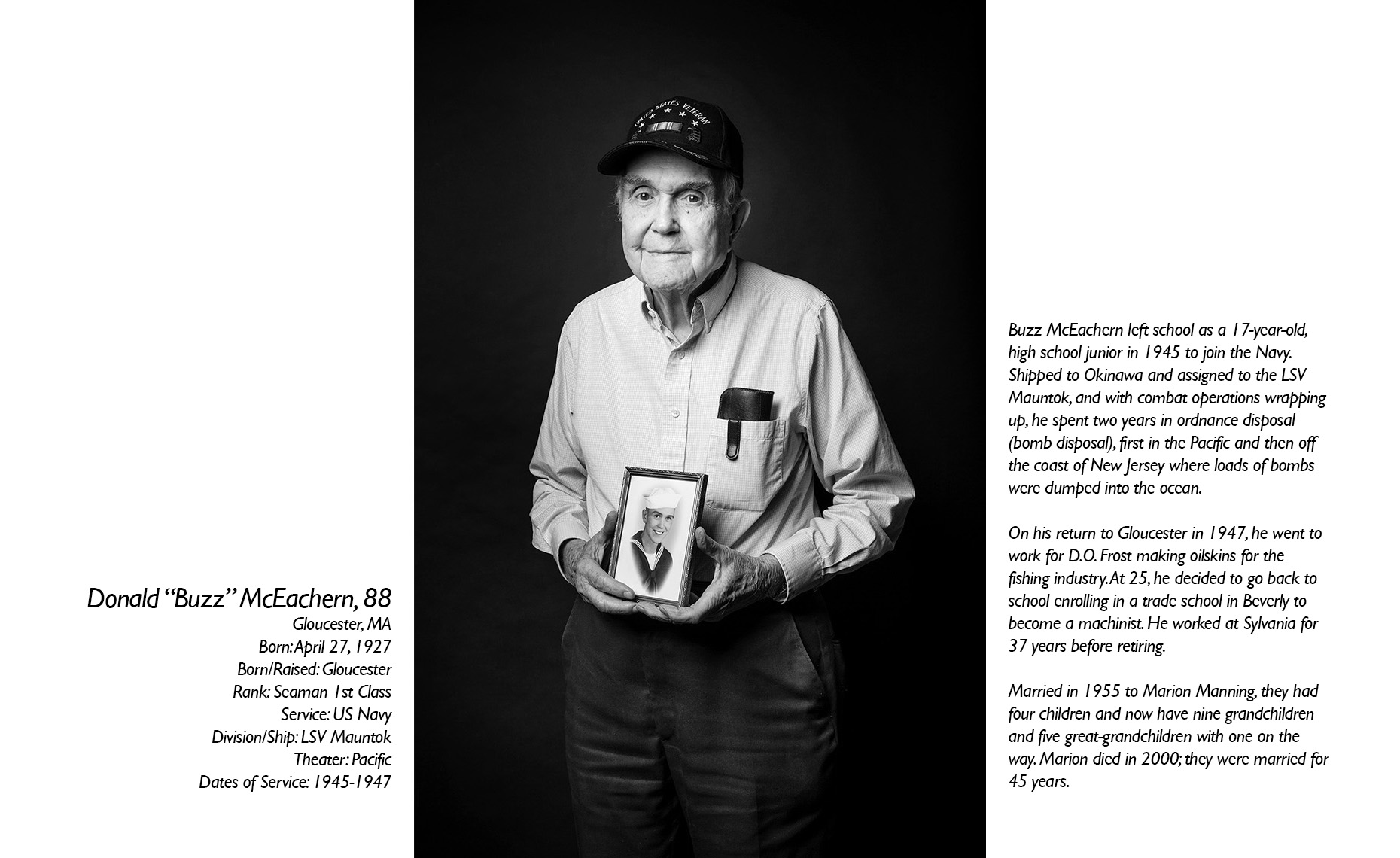 Donald McEachern  WWII Veteran  • Jason Grow Photography