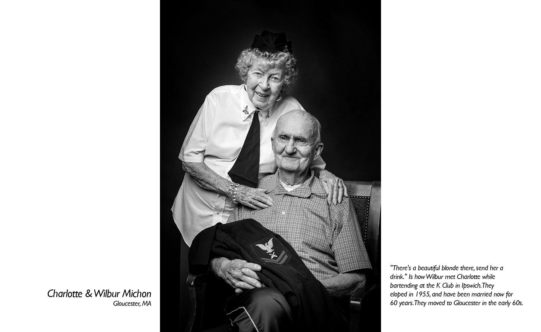 Charlotte & Wilbur Michon  WWII Veteran  • Jason Grow Photography