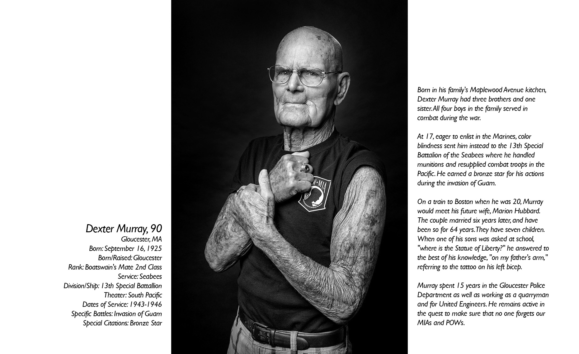 Dexter Murray  WWII Veteran  • Jason Grow Photography