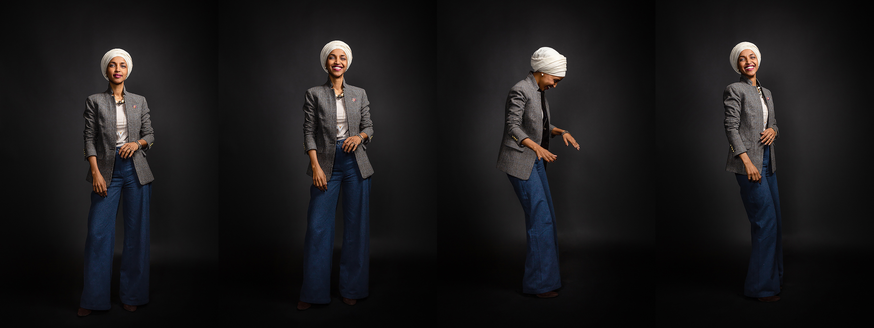 Rep.  Ilhan Omar, MN-05 • New Women of Congress - Politico Magazine • Jason Grow Photography