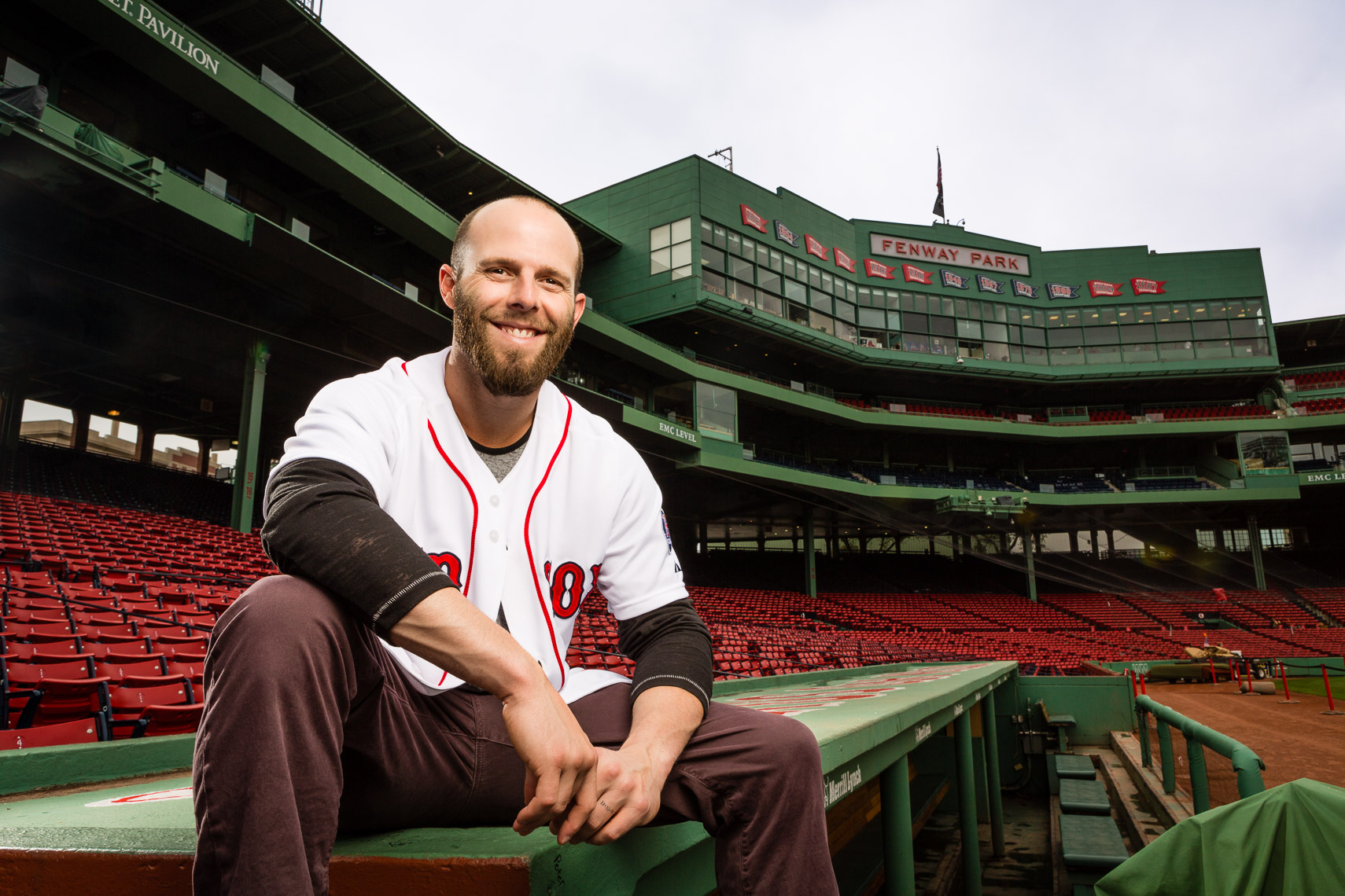Red Sox 2nd Baseman Dustin Pedroia • Jason Grow Photography