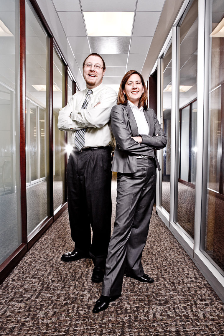 Andrew Feltus & Tracy Wright, Pioneer Investments • Jason Grow Photography