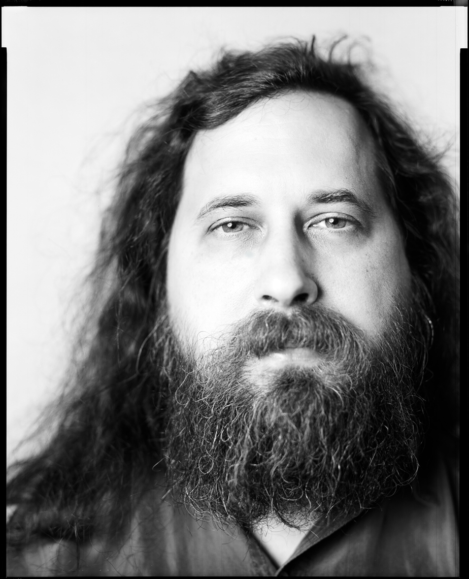 Richard Stallman, open source software advocate, MIT • Jason Grow Photography