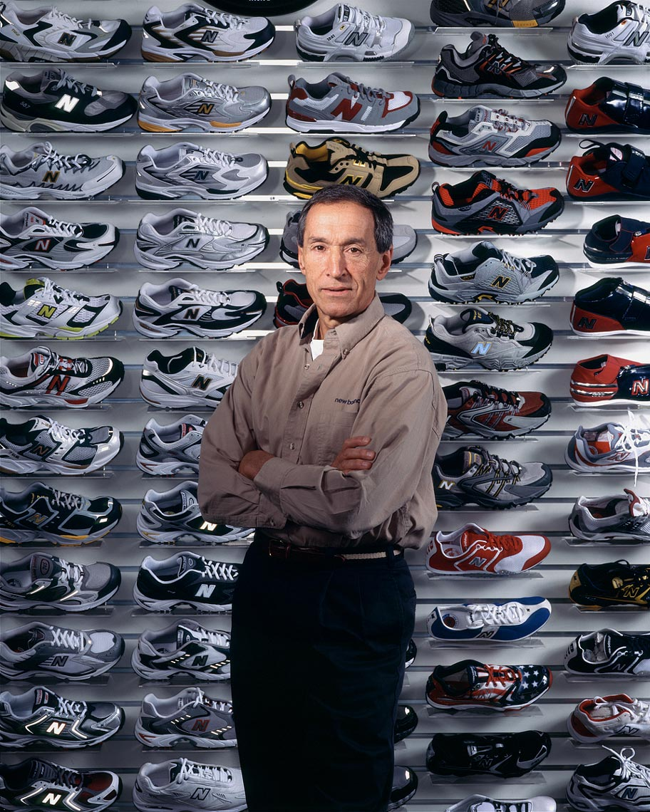 Jim Davis, CEO New Balance, for Time Magazine • Jason Grow Photography