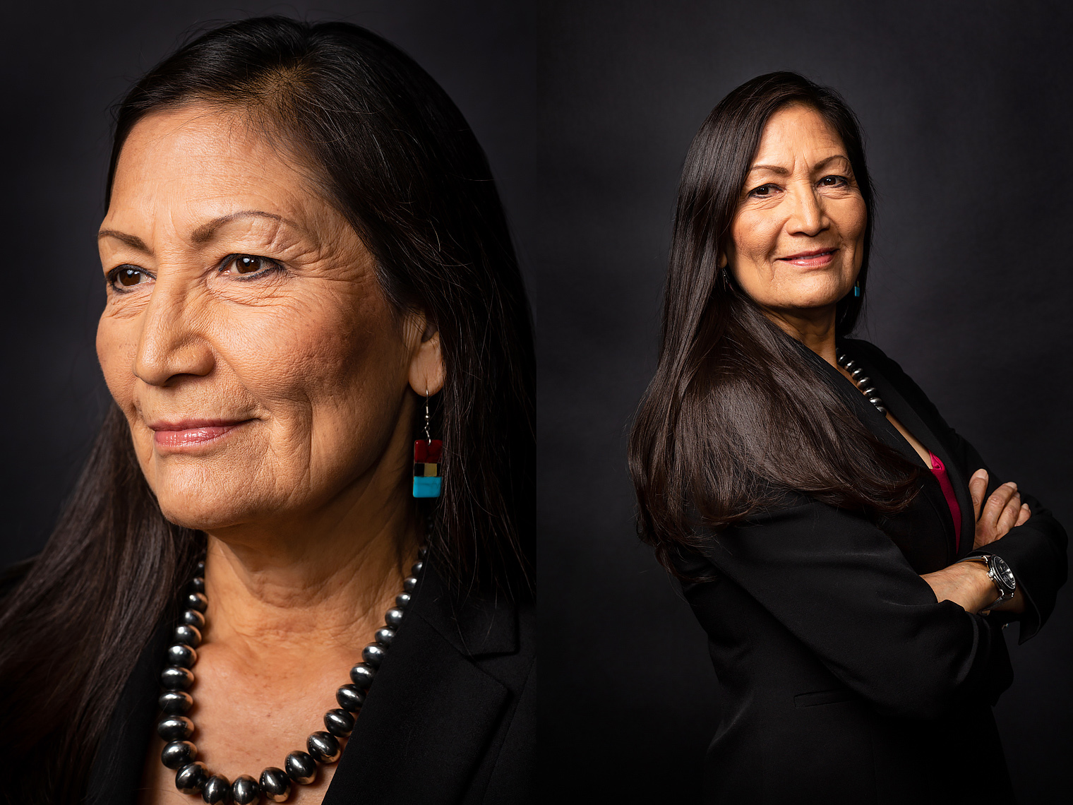 Rep.  Debra Haaland, NM-01 • New Women of Congress - Politico Magazine • Jason Grow Photography