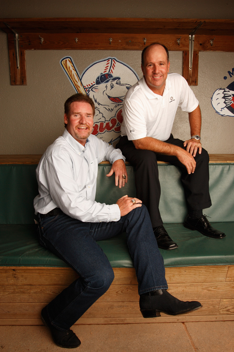 Wade Boggs and Marty Barrett, for Sports Illustrated • Jason Grow Photography
