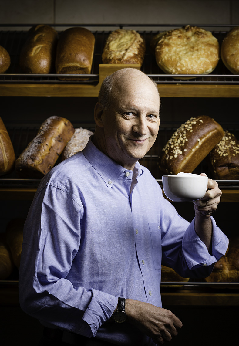 Ronald Shaich, CEO Panera Bread • Jason Grow Photography • Boston