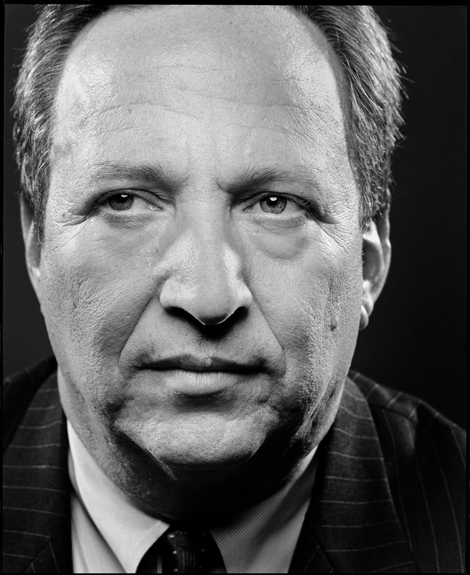 Larry Summers, former Secretary of the Treasury and president of Harvard University, for Businessweek • Jason Grow Photography