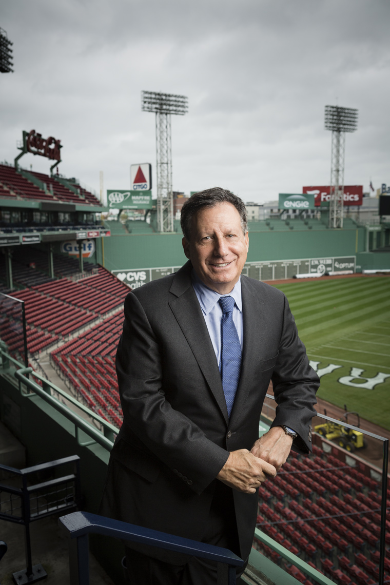 Tom Werner - Chairman of the Boston Red Sox • BOSTON MAGAZINE • JASON GROW PHOTOGRAPHY